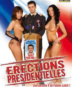 Érections présidentielles cover face