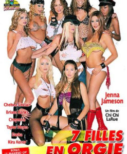 7 filles en orgie cover face
