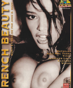French beauty cover face