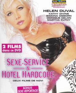 Sexe service et hôtel hardcore cover face