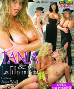 Tania et les filles en noir cover face