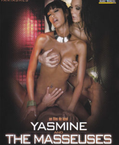 Yasmine and the masseuses cover face