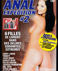 Anal expédition 2 cover face