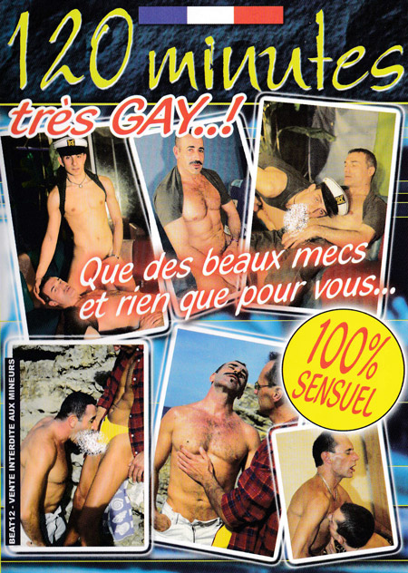 120 minutes tres gay cover face