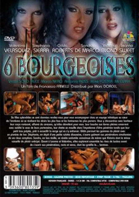 6 Bourgeoises cover dos