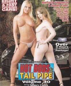 Hot bods et tail pipe volume 30 cover face