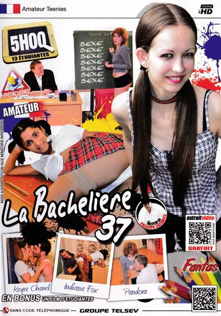 La bachelière 37 cover face