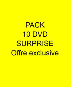 Pack 10 dvd promo